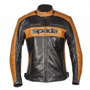 Spada Turismo Leather Jacket Black/Gold